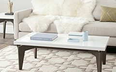 White and Brown Coffee Tables