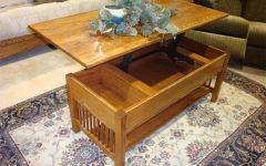 Lift Top Oak Coffee Tables