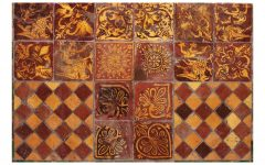 Exciting Collection of French Encaustic Decorated Tiles