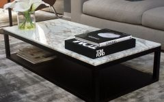 Black and Grey Marble Coffee Tables