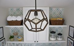 Dodecahedron Pendant Lights