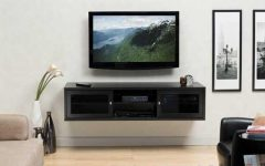 Floating Glass TV Stands