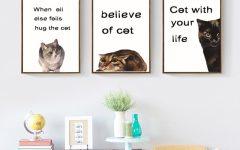 Cat Canvas Wall Art