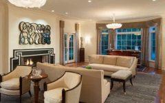 Fashionable Art Deco Living Room
