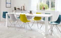 White Gloss Extending Dining Tables