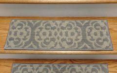 Set of 13 Stair Tread Rugs