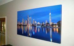 Gold Coast Canvas Wall Art