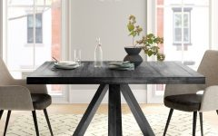 Rhiannon Poplar Solid Wood Dining Tables