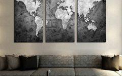 Grey Canvas Wall Art