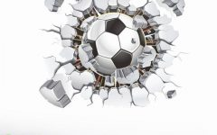 Football 3D Wall Art