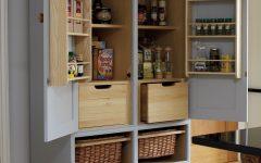 Free Standing Kitchen Larder Cupboards