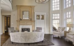 French-Style Living Room Interior Decor