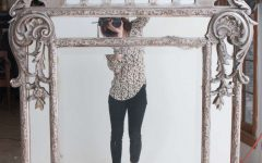 Silver Gilded Mirror