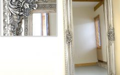 Ornate Floor Length Mirror