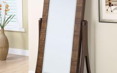 Cream Free Standing Mirror