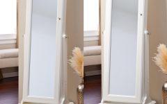 Cream Standing Mirror