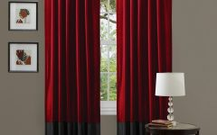 Extra Long Red Curtains