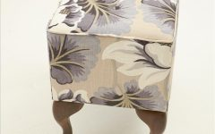 Fabric Footstools and Pouffes