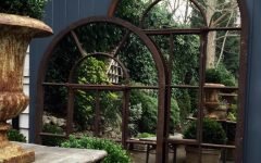 Large Outdoor Garden Mirrors