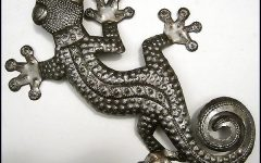 Gecko Outdoor Wall Art