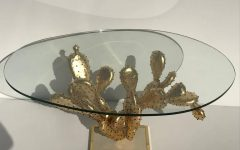 Cacti Brass Coffee Tables
