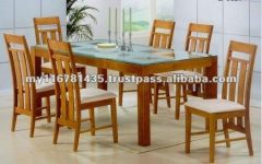 Wood Glass Dining Tables