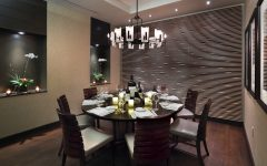 Glass Dining Room Pendant Light for Round Dining Room