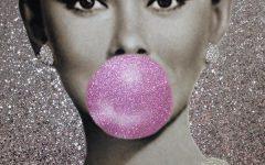 Glamorous Audrey Hepburn Wall Art