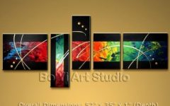 Modern Abstract Oil Painting Wall Art