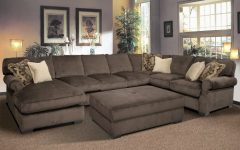 Sectionals With Oversized Ottoman
