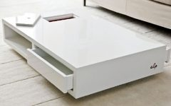 Large Low White Coffee Tables
