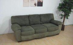 Green Microfiber Sofas