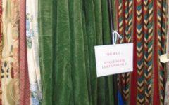 Velvet Door Curtain