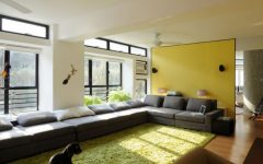 Green and Yellow Decor Theme for Apartment