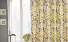 Pattern Curtain Panels