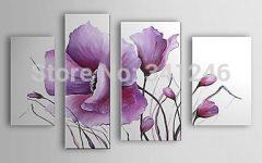Lilac Canvas Wall Art