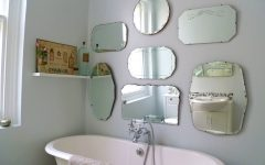 Vintage Frameless Mirrors