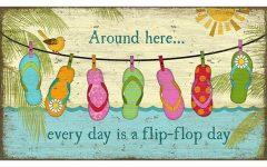 Flip Flop Wall Art