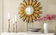 Harbert Modern and Contemporary Distressed Accent Mirrors