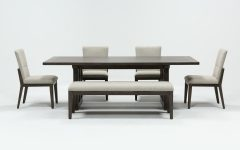 Helms 7 Piece Rectangle Dining Sets With Side Chairs