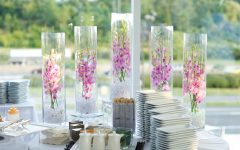 10 Exotic Submerged Flower Wedding Centerpieces