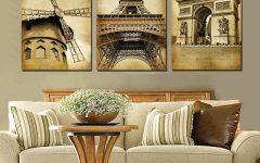 Canvas Wall Art of Paris