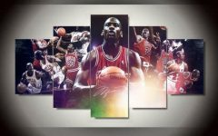 Michael Jordan Canvas Wall Art