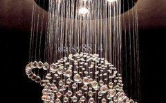 Crystal Ball Chandeliers Lighting Fixtures