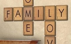 Scrabble Letters Wall Art