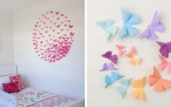 3D Wall Art With Paper