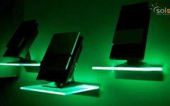Illuminated Glass Shelf