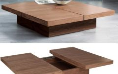 Square Storage Coffee Table
