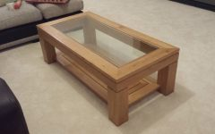 Glass Oak Coffee Tables