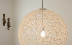 Diy Yarn Pendant Lights